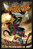 The Amazing Spider-Man No571 Cover: Spider-Man and Green Goblin
