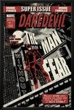 Daredevil Black & White No1 Cover: Daredevil Standing on a Rooftop