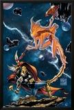 Stormbreaker: The Saga Of Beta Ray Bill No3 Cover: Stardust and Beta-Ray Bill Flying