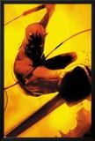 Daredevil: Reborn No2 Cover: Daredevil Jumping