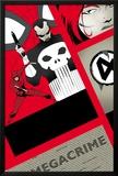 Dareveil No11 Cover: Punisher and Daredevil