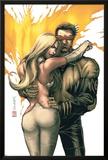 New X-Men No156 Cover: Cyclops  Emma Frost and Phoenix