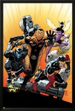 The Superior Foes of Spider-Man 4 Cover: Shocker  Boomerang  Beetle  Speed Demon  Overdrive