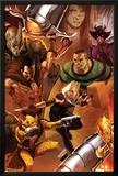 The Amazing Spider-Man No643 Cover: Shocker  Kraven the Hunter  Sandman  Rhino  and Ana Kravinoff