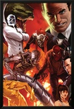 The Amazing Spider-Man No644 Cover: Norman Osborn  Lizard  Menace  and Mister Negative Posing