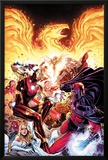 Avengers vs X-Men No2: Iron Man  Magneto  Thor  and Hope Summers