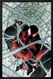 Scarlet Spider No1: Scarlet Spider in a Web