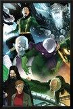 The Amazing Spider-Man No646 Cover: Mysterio  Chameleon  Electro  and Vulture Standing