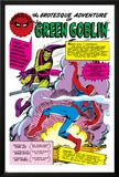 Spider-Man: Panel with Spider-Man's First Battle with Green Goblin