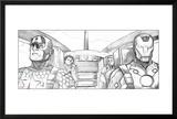 Avengers Assemble Pencils Featuring Captain America  Iron Man