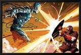 Avengers Assemble Panel Featuring Ultron  Captain America