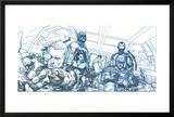 Avengers Assemble Pencils Featuring Hawkeye  Captain America  Iron Man  Thor  Black Widow