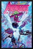 Avengers Assemble 21 Cover: Spider Woman  Black Widow  Spider-Girl
