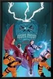 Avengers Assemble Panel Featuring Falcon  Iron Man  AIM  MODOK
