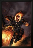 Ghost Rider No20 Cover: Ghost Rider Fighting