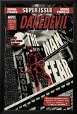Daredevil Black & White No1 Cover: Daredevil Standing on a Rooftop