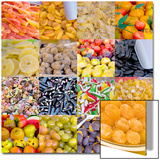 Colourful Multi Compilation of Dried Fruit and Candy in Venice  Italy