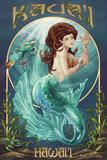 Mermaid - Kaua'i  Hawai'i