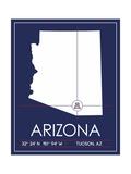 University of Arizona State Map