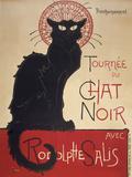 Le Chat Noir Giclée par Theophile Steinlen