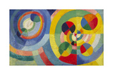 Circular Forms, 1930 Giclée premium par Robert Delaunay