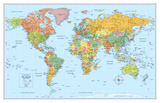 Rand Mcnally Signature World Map