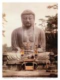 The Great Buddha of Kamakura (Daibutsu) Statue - Ktoku-in Temple  Japan
