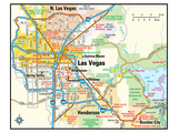 Las Vegas Nevada Area Map