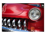Red Car Grill and Headlight