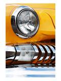 Yellow Car Fender & Headlight