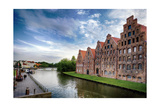 Warehouses Of Old Town Lubeck