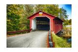 Silk Covered Bridge  Bennington  Vermont