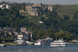 Burg Rheinfels Overlooks St Goar Germany