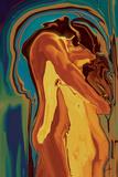 Passionate Kiss 2 Giclée premium par Rabi Khan