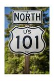 U S 101 Sign California