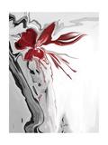 Red Orchid 1 Reproduction d'art par Rabi Khan
