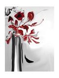 Red Orchid 2 Reproduction d'art par Rabi Khan