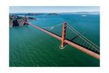 Golden Gate Bridge Aloft