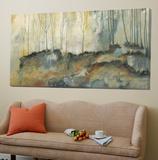 Les deux forêts Toile Murale Géante par Roland Benoît