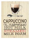 Cappuccino Expresso Reproduction d'art par Marco Fabiano