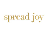 Spread Joy Golden White