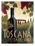 Toscana Festa Del Vino Reproduction d'art par Marco Fabiano