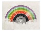 Rainbow Classic Reproduction d'art par Florent Bodart