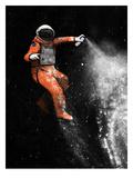 Astronaute Reproduction d'art par Florent Bodart
