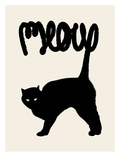 Miaou Reproduction d'art par Florent Bodart