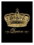 Crown Queen Golden Black