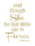 Fierce Shakespeare Golden White