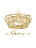 Crown Queen Golden White