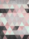 Geometric Small Reproduction d'art par LILA X LOLA