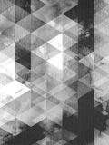 Geometric Black Grey